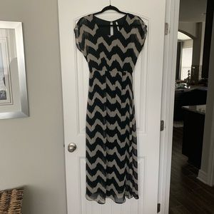 Ladies Chevron Maxi